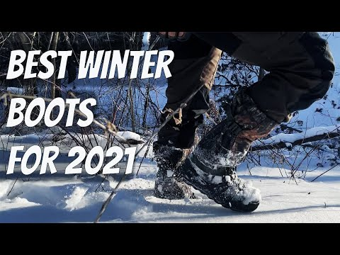 Best Winter Boots 2021 - Survival Instructor Top Gear Picks