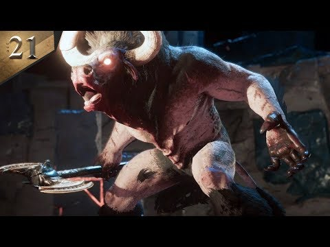 MINOTAUR BOSS FIGHT - Assassin's Creed Odyssey Part 21