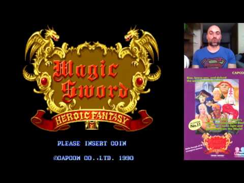 Magic Sword // Arcade // Single Player Cap. 6 // RETRO