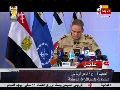 سيناء 2018 - المتحدث العسكري يفصح عن سبب وجود سيارات فارهة ودراجات بخارية بأعداد كبيرة بسيناء