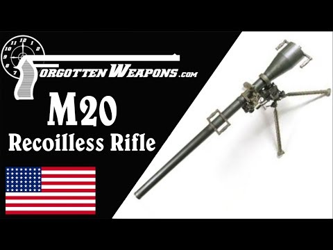 connectYoutube - M20 75mm Recoilless Rifle: When the Bazooka Just Won't Cut It