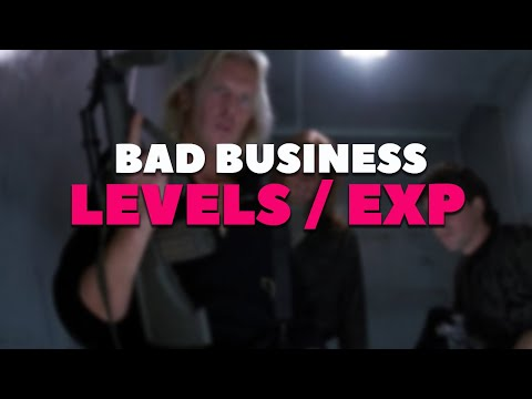 Level Progression and EXP (Bad Business)