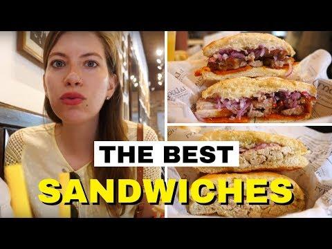 Peruvian Fast Food Review - The Best Peruvian Sandwiches at La lucha Sanguchería in Lima, Peru