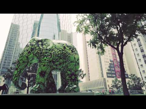 Elephant Parade Hong Kong the making of by SWIRE Properties