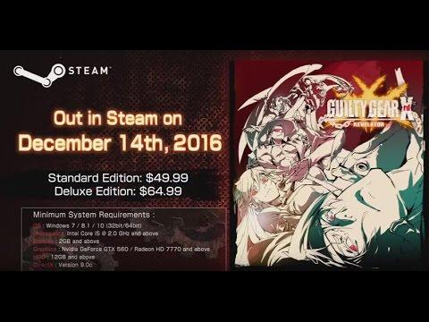 GUILTY GEAR Xrd -REVELATOR- now on Steam!!