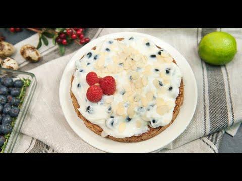 Безглютеновый торт с голубикой | Исключительная еда