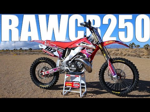 Vertex CR250 2 Stroke RAW - Motocross Action Magazine