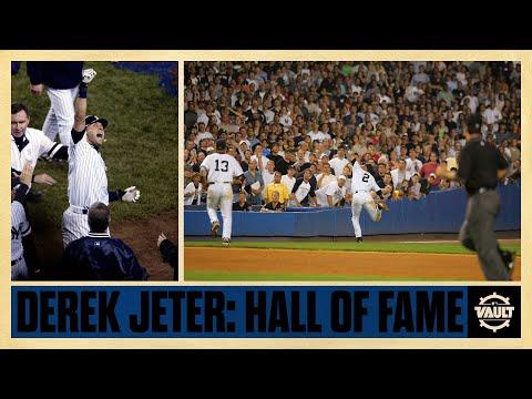 Derek Jeter: a Champion, The Captain, a first ballot Hall of Famer!