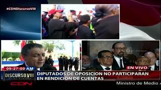 """Diputado Gustavo Sánchez: """"la democracia nunca ha estado en juego bajo el mandato de Medina"""""""