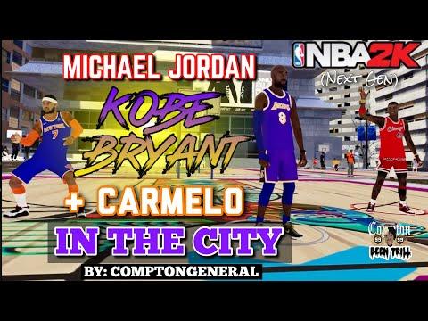 JORDAN, KOBE, & MELO STREAKING IN DA CITY🔥 NBA 2K21 HOF LEGENDS EDITION VOL.1    NEXT GEN GAMEPLAY
