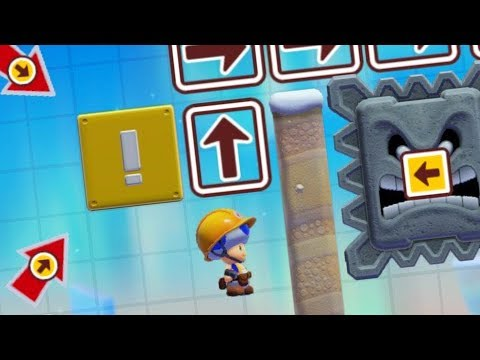 🔴 Mario Maker 2: trying to clear a new level