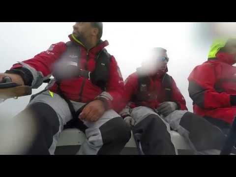 Glade invictus-sejlere henter erfaringer ved mesterskab