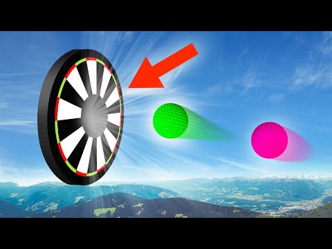 MILE HIGH DARTS WITH GOLFBALLS! (Golf It)