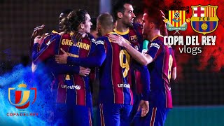 ????? THE MAGIC OF THE CUP! REACTION TO CORNELLÀ 0-2 BARÇA | COPA DEL REY VLOG