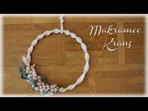 Makramee Kranz * DIY * Macrame Wreath