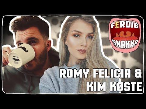 FERDIG SNAKKA #4: TB til Sexklubb, Første Fylla og Utroskap med Romy Felicia og Køste