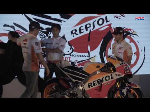 The 2017 Honda Repsol Team Presentation in Indonesia