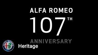 Alfa Romeo's 107th Anniversary