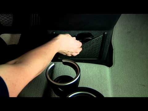 BMW i3 Cup Holders and Interior Storage