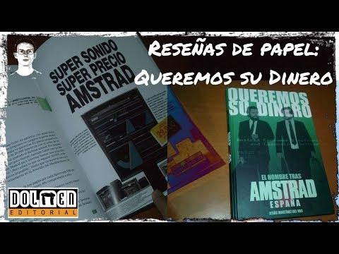 Reseñas de papel: Queremos su dinero (Jesús Martínez del Vas) Dolmen Editorial