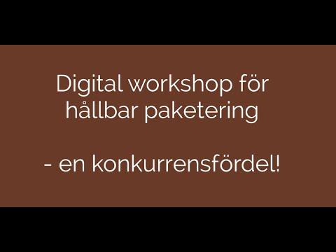 Workshop Hållbar paketering 2021