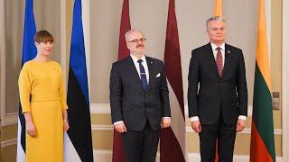 Prezidentas dalyvauja Baltijos šalių vadovų susitikime