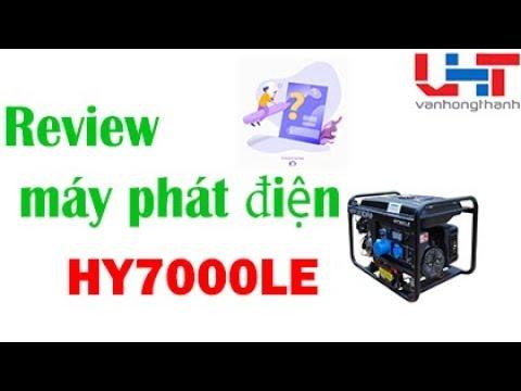 Máy phát điện HY7000LE 5KW – Công nghệ Hàn Quốc