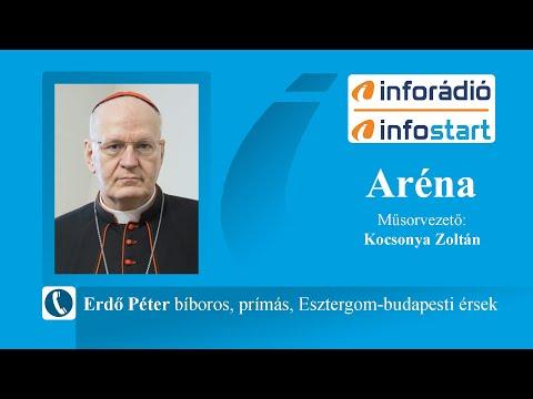 InfoRádió - Aréna - Erdő Péter - 2021.08.30.