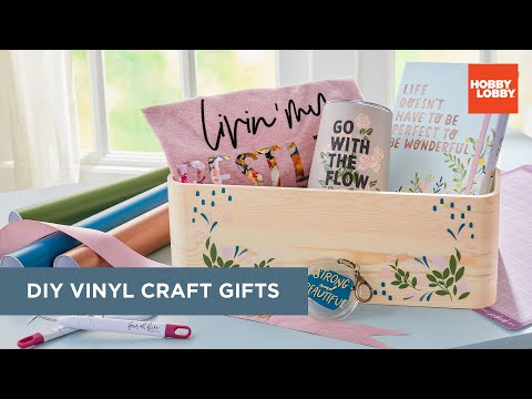 DIY Vinyl Craft Gifts | Hobby Lobby®