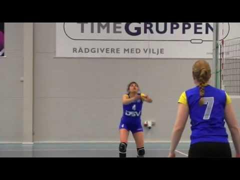 DSV transporterer boldmaskine til højtflyvende volleyballpiger