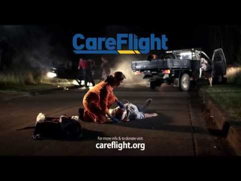 Careflight MediSim community service announcment
