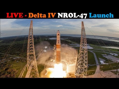 connectYoutube - LIVE: Delta IV M+ (5,2) Rocket Launches NROL-47 Spacecraft