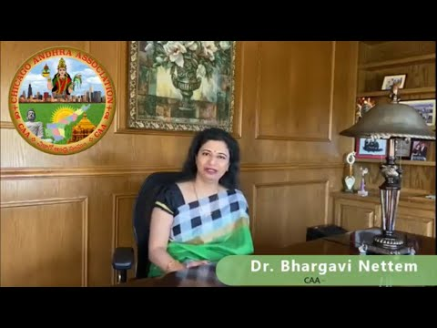 "<p><span style=""font-size: 1.5em;"">Dr. Bhargavi Nettem, CAA President Message</span></p>"