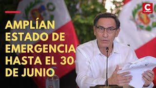 Coronavirus en Perú: Martín Vizcarra amplía el estado de emergencia hasta el 30 de junio | #Día68