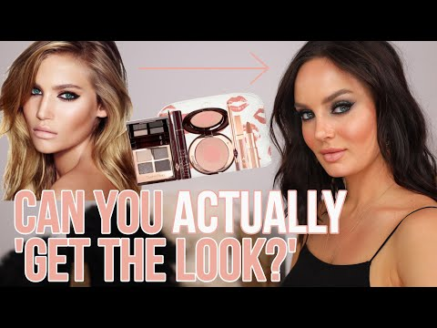 Following a Charlotte Tilbury Tutorial! Are Her Makeup Sets Worth It""