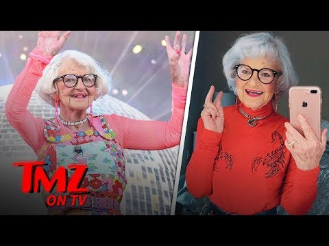 Baddie Winkle Is The Most Fashionable 90-Year-Old In The World | TMZ TV
