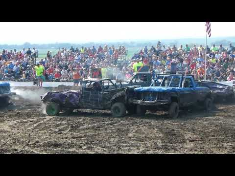 Winner Demolition Derby 2017 Truck Class