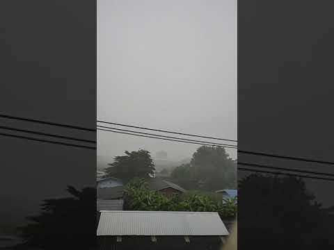 ฝนเทลงมา