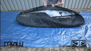 1d4bb8269a9b Magicseaweed Store - Ocean   Earth Triple Coffin Bag With Wheels - YouTube