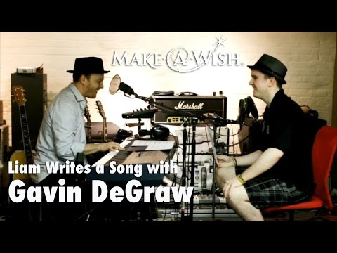 Liam Writes a Song with Gavin DeGraw: Wish TBT
