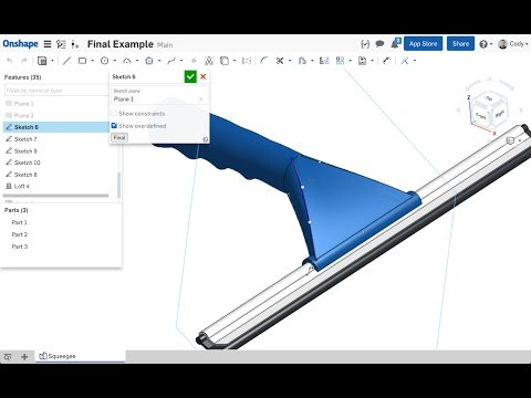 Webinar | 5 Tips for Designing Faster in Onshape (January 17th, 2017)