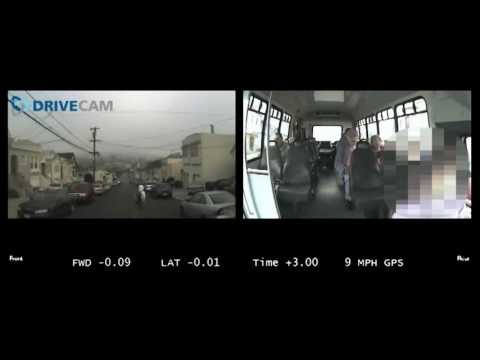 Bus Driver Avoids Pedestrian with Lytx DriveCam