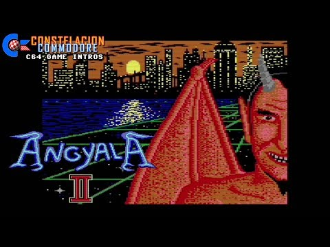 C64 Game Intro: Angel of Hell II Preview (576 KBytes,1996)