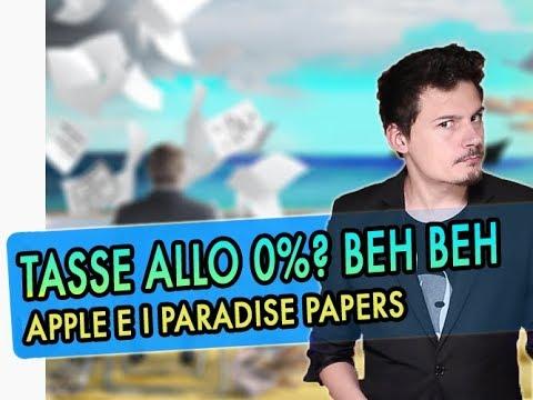 Apple e i Paradise Papers: dove pagare un bel 0% di tasse?