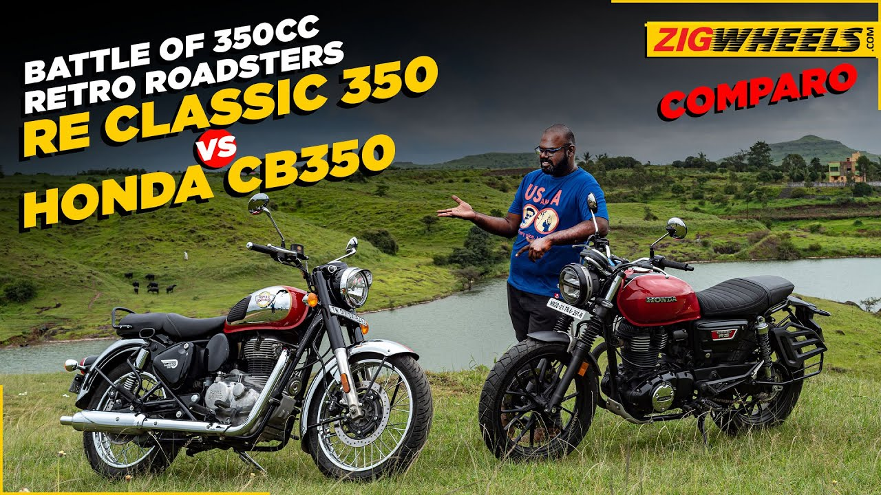 2021 Royal Enfield Classic 350 vs Honda CB350 RS   Which Is The Better 350cc Roadster?