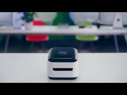 Brother VC-500W - Stampante di etichette a colori con Wi-Fi