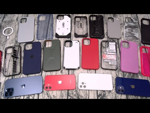 iPhone 12/ 12 Pro / 12 Pro Max / 12 Mini Case Lineup - Speck, UAG, Tech 21, Casetify and More!