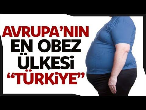 Türkiye Obezite ve Şeker Hastalığında Avrupa'da İlk Sırada