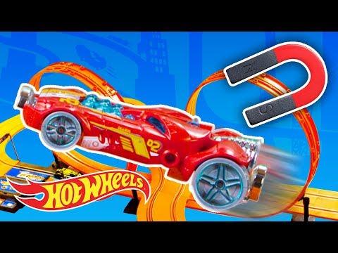 Magnetic Drift Challenge! | Fast Track | Hot Wheels