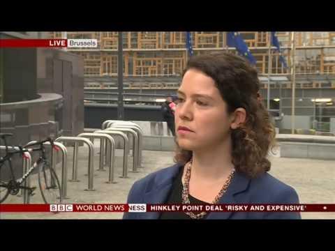 Leïla Bodeux talks of EU migration policy on BBC World News